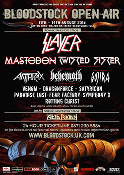 Fear Factory Bloodstock 2016