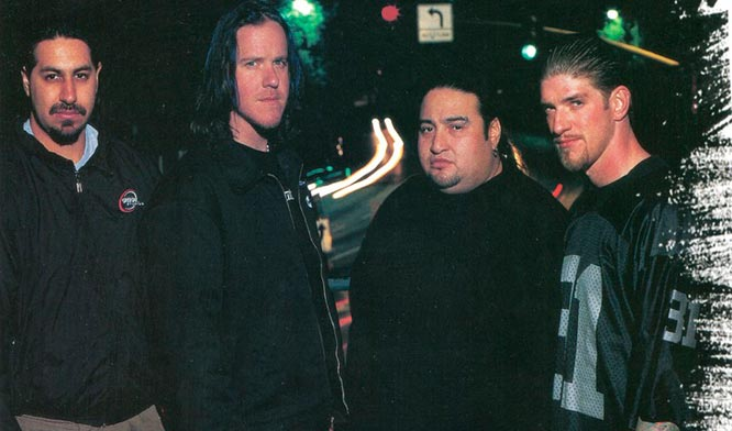 Интервью Fear Factory Metal Hammer, 2000